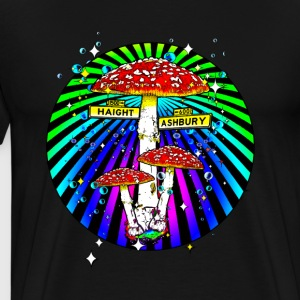 Haight Ashbury Psychedelic T-Shirts - Men's Premium T-Shirt