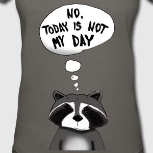 Cool Racoon - Women's V-Neck T-Shirt