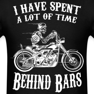 I Have Spend A Lot Of Time Behind Bars - Men's T-Shirt