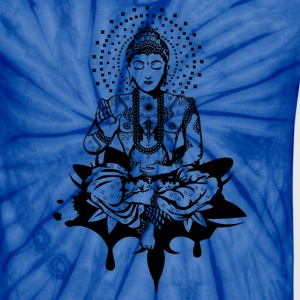 Buddha in the lotus position T-Shirts - Unisex Tie Dye T-Shirt