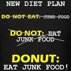 New Diet Plan - Men's T-Shirt