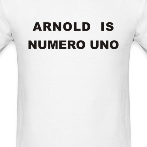 Arnold Schwarzenegger – Arnold is Numero Uno