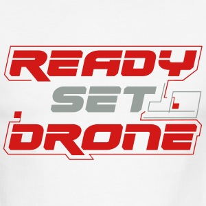Ready Set Drone - Ringed T-Shirt - Men's Ringer T-Shirt