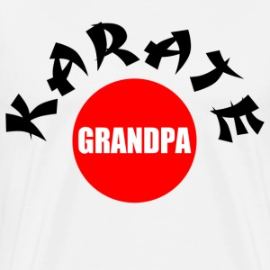 Karate Grandpa T-Shirts - Men's Premium T-Shirt