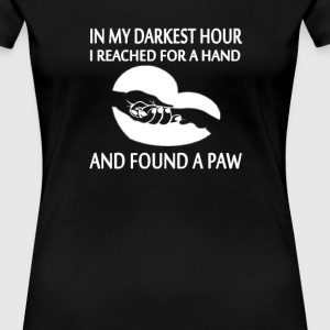 FOUND A PAW - Women's Premium T-Shirt
