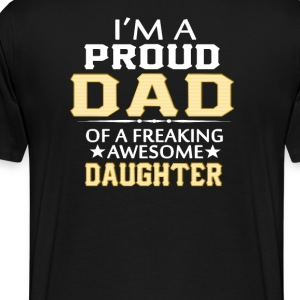 I'M A  PROUD DAD - Men's Premium T-Shirt