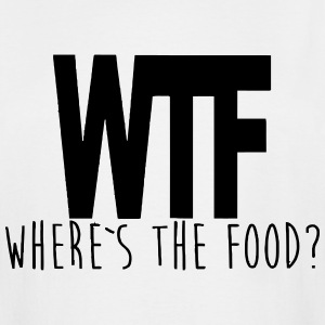 WTF - WHERE IS THE FOOD? T-Shirts - Men's Tall T-Shirt
