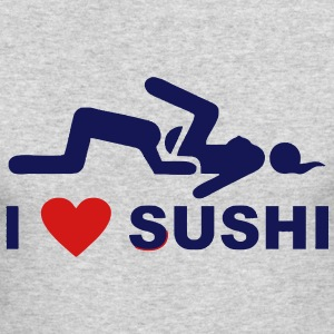 I LOVE SUSHI Long Sleeve Shirts - Men's Long Sleeve T-Shirt by Next Level