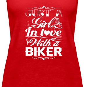 In love with a Biker - Women's Premium Tank Top