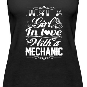 In love with a Mechanic - Women's Premium Tank Top