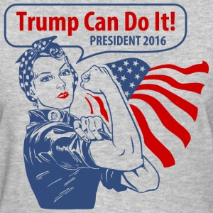 Trump Shirts - Rosie Trump Can Do It Women's T-Shirts - Women's T-Shirt