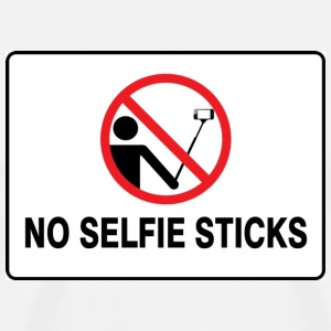 No selfie stick please - Men's Premium T-Shirt