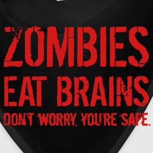 ZOMBIE EAT BRAINS Caps - Bandana