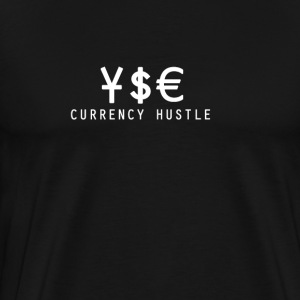 Currency Hustle Black T  - Men's Premium T-Shirt