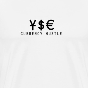 Currency Hustle white T - Men's Premium T-Shirt