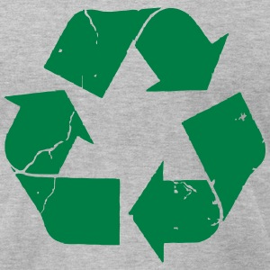 recycling T-Shirts - Men's T-Shirt by American Apparel
