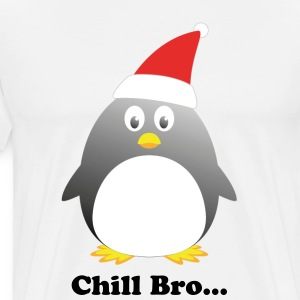 Mens Penguin T-Shirt  - Men's Premium T-Shirt
