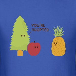Pineapple pine apple joke t shirt - Men's T-Shirt