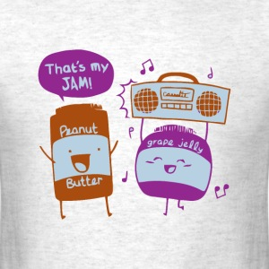 Peanut butter and jelly joke t shirt - Men's T-Shirt