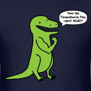 Funny gym t-rex t shirt - Men's T-Shirt