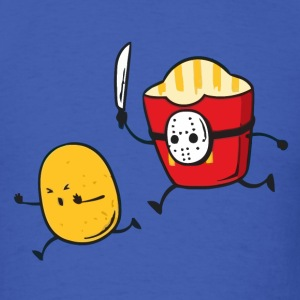 Funny fast food french fries murder t shirt - Men's T-Shirt