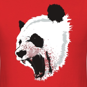 Crazy panda t shirt - Men's T-Shirt