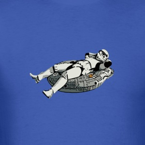 Star Wars stormtrooper relaxing t shirt - Men's T-Shirt