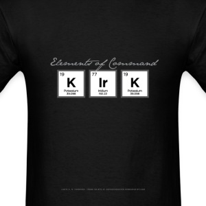 Kirk Periodic Table T-Shirts - Men's T-Shirt