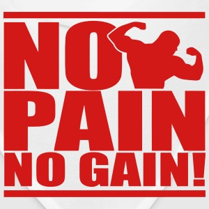 NO PAIN NO GAIN Caps - Bandana