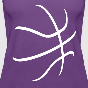 basketball Tanks - Women's Premium Tank Top