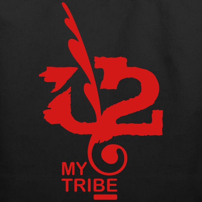 U+2=MY TRIBE - front print - one size