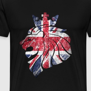 lion british - Men's Premium T-Shirt