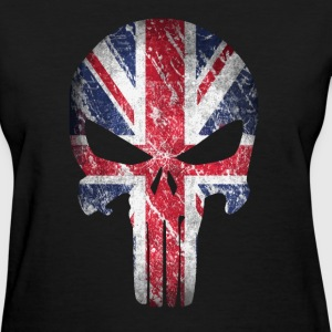 skull british - Women's T-Shirt
