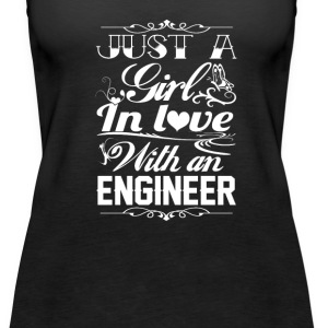 Love with an Engineer - Women's Premium Tank Top