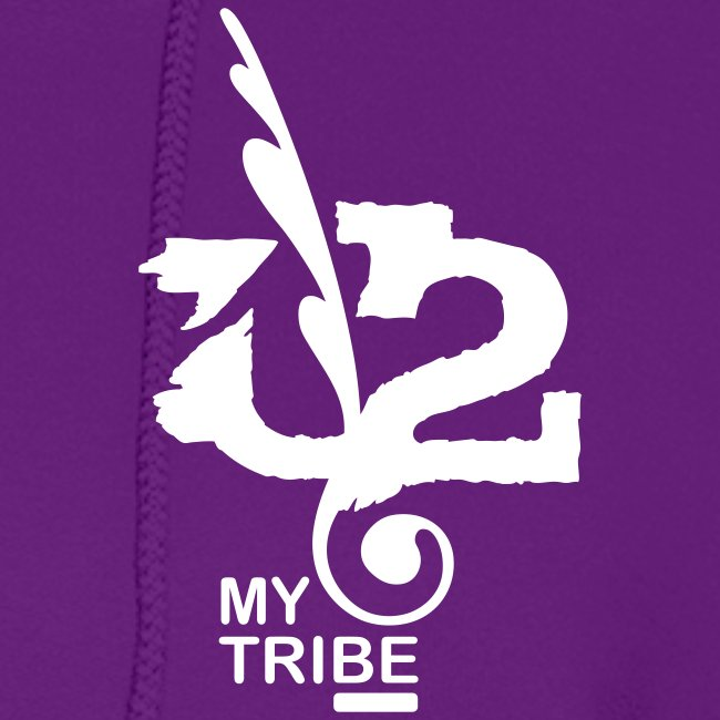 U+2=MY TRIBE - back+front - s/xxl - multi colors