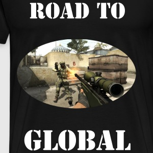 Road to GLOBAL - Men's Premium T-Shirt