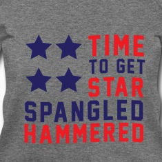 Star Spangled Hammered - Women's Wideneck Sweatshi