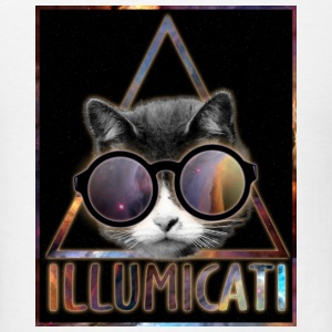 Illumicati Cat Secret Society T-Shirts - Men's T-Shirt