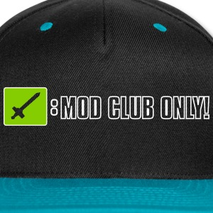 Twitch Mod Club Caps - Snap-back Baseball Cap