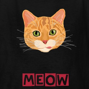 Cute Cat Face - Kids' T-Shirt