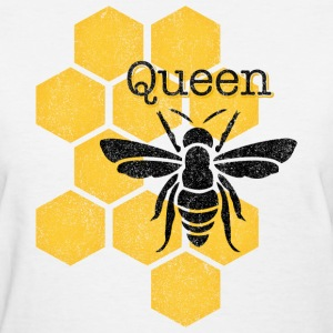 Honeycomb Queen Bee Women's T-Shirts - Women's T-Shirt