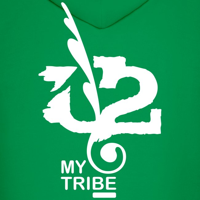 U+2=MY TRIBE - back+front - s/xxl - multi color