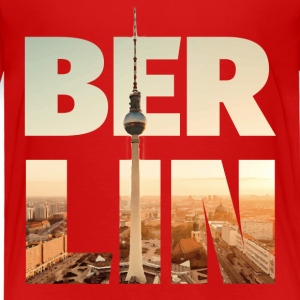 BERLIN CITY – Typo Baby & Toddler Shirts - Toddler Premium T-Shirt