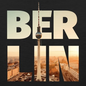 BERLIN CITY – Typo Tank Tops - Men's Premium Tank