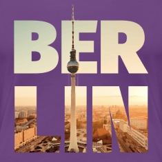 BERLIN CITY – Typo Women's T-Shirts