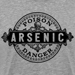Halloween Poison Label Arsenic T-shirt - Men's Premium T-Shirt