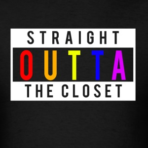 Straight Outta The Closet T-Shirts - Men's T-Shirt