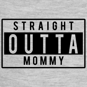 Straight Outta Mommy Kids' Shirts - Baby Contrast One Piece