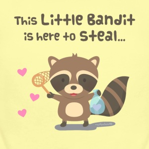 Cute Heart Bandit Raccoon Baby & Toddler Shirts - Short Sleeve Baby Bodysuit