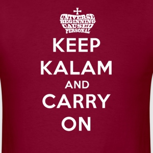 Keep Calm Kalam And Carry On Worded Crown T-Shirts - Men's T-Shirt